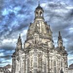 Dresden, HDR; Frauenkirche